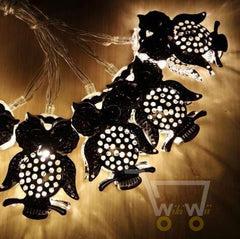 10LED Owl Christmas lights string , Battery and led twinkle light - WikiWii