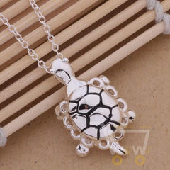 925 Silver Necklaces sea turtle - WikiWii