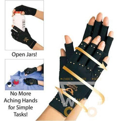 Copper Compression Therapy Hand Gloves - WikiWii