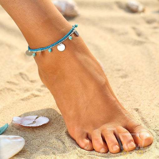Beach Chain Anklet - WikiWii