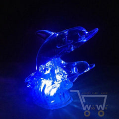 7 Changing Color LED Dolphin Night Light - WikiWii