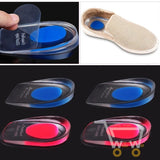 1 Pair Soft Silicone Heel Support Pad