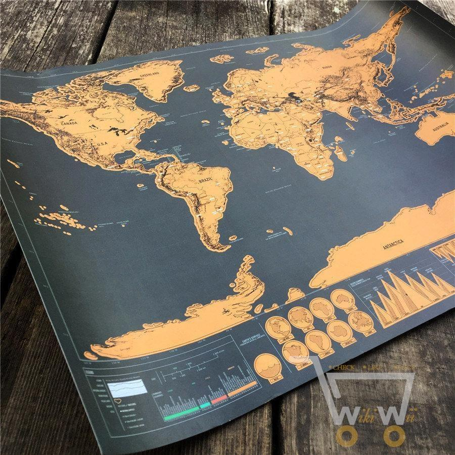 Globetrotter scratch off world map gumiabroncs Gallery