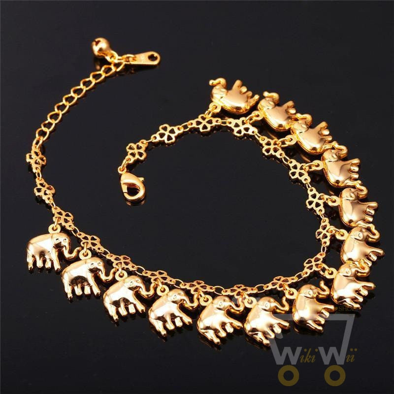 plated chain product leaf bracelet real flower gold your bangles ads lover for bracelets platinum romantic charm gift rhinestone