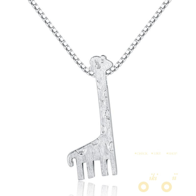 default giraffe origami necklace