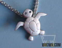 Baby Sea Turtle Charm Necklace - WikiWii