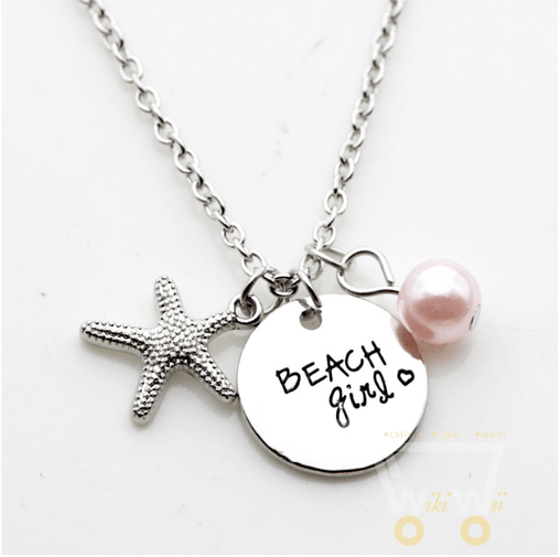 Beach Girl Necklace - WikiWii