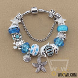 Blue Beads bracelets Starfish / Sea Turtle / Dolphin
