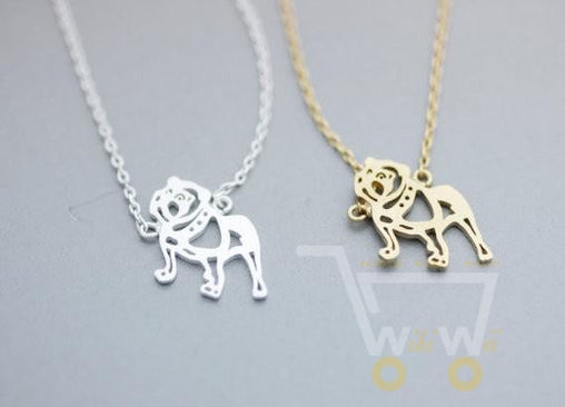 Bulldog Necklace - WikiWii