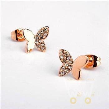 Butterfly Shaped Earring - WikiWii