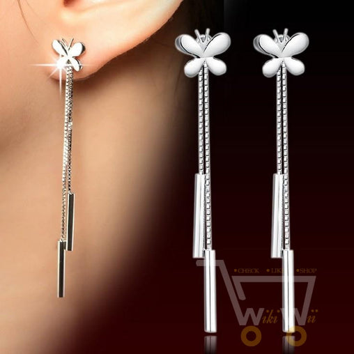 Butterfly Shaped Earrings - WikiWii