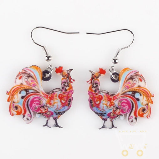 Chicken Earrings For Women - WikiWii