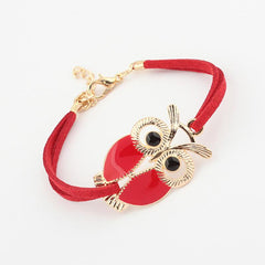 Colorful Owl Decorations Multi-layer Bracelet - WikiWii
