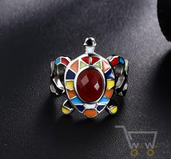 Colourful Turtle Ring - WikiWii