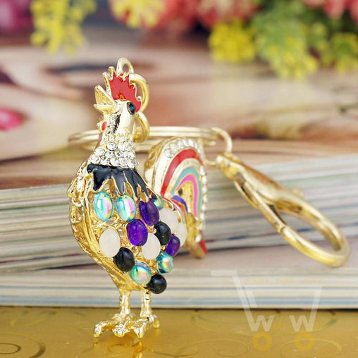 Crystal Key chain Chicken - WikiWii