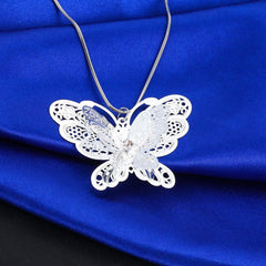 Cute Butterfly Necklace - WikiWii