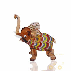 CUTE Elephant Glass Decoration - WikiWii