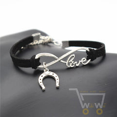 Cute Horseshoe Charms Bracelet - WikiWii