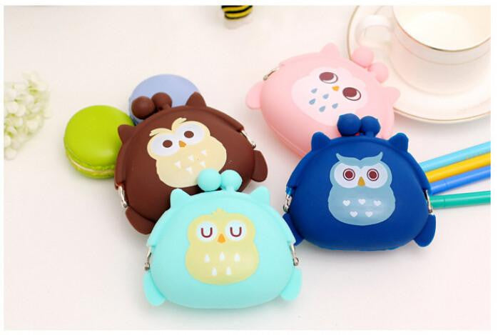 Cute Owl Coin Purse Wallet - WikiWii