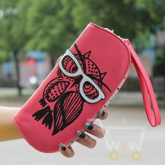 Cute Owl Glasses Hit Color Printing - WikiWii
