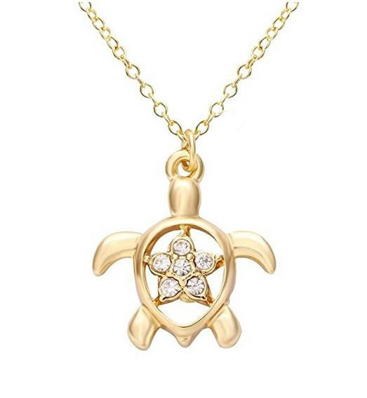 Cute star turtle design necklace - WikiWii