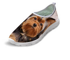 Dog Printed Men's Shoes - WikiWii