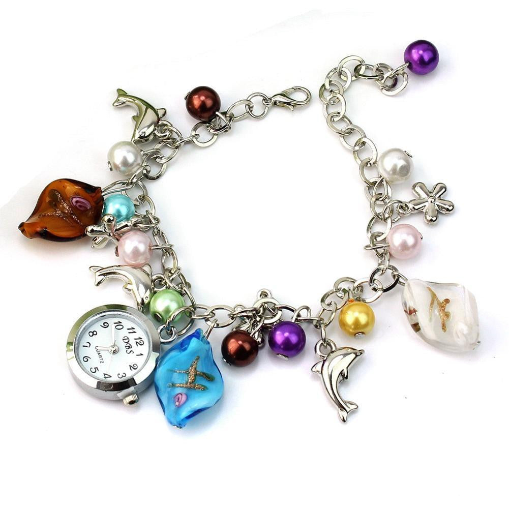 Dolphin bracelet women watches - WikiWii