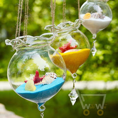 Empty Glass Bowl Handmade Decoration - WikiWii