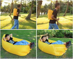 Fast Inflatable Sleeping Bag - WikiWii
