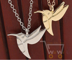 flying Hummingbird Necklace - WikiWii