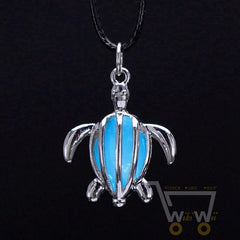 Glow in the Dark Turtle Necklaces - WikiWii