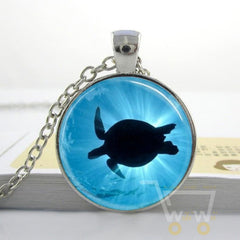 Glowing Turtle Necklace - WikiWii