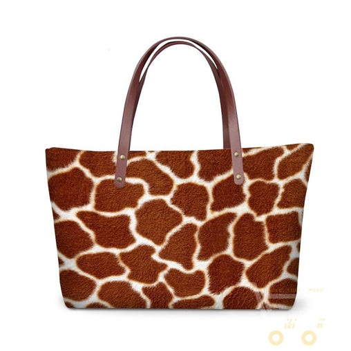Animal Printed Skin Purse - WikiWii