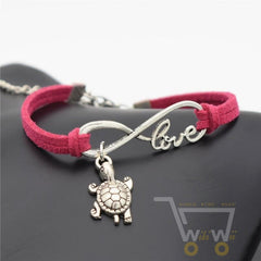 Infinity Sea Turtle Leather Bracelet-Hot Offer - WikiWii
