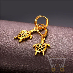 Jewelry Sets Sea Turtle Shape (Necklace & Earrings) - WikiWii