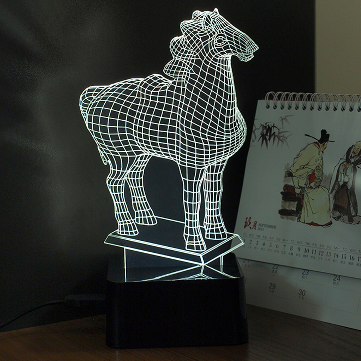 LED Horse SHAPE LAMP- 7 COLORS CHANGEABLE - WikiWii