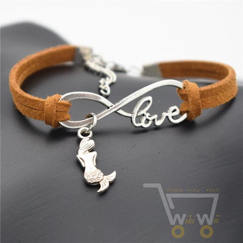 Little Mermaid Charms Bracelet - WikiWii