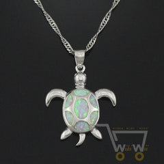 Lovely Sea Turtle Chain Necklace - WikiWii