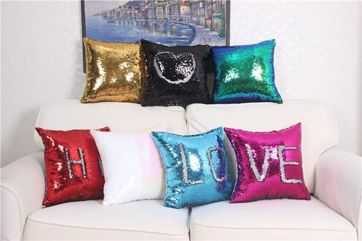 Magical Reversible Sequin Pillow Case - WikiWii