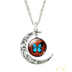 Moon Butterfly Necklace - WikiWii