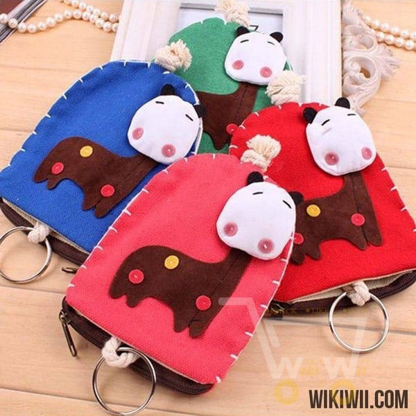 Multifunctional Lovely Giraffe Key Chain - WikiWii