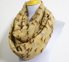 Running Horse Scarf - WikiWii