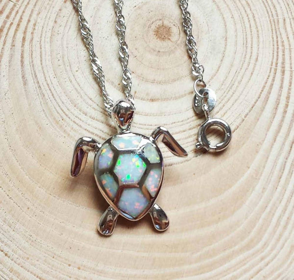 Fire opal stone sea turtle necklace fire opal stone sea turtle necklace wikiwii aloadofball Image collections