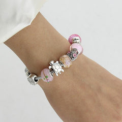 Sea turtles Pink  Bracelets - WikiWii