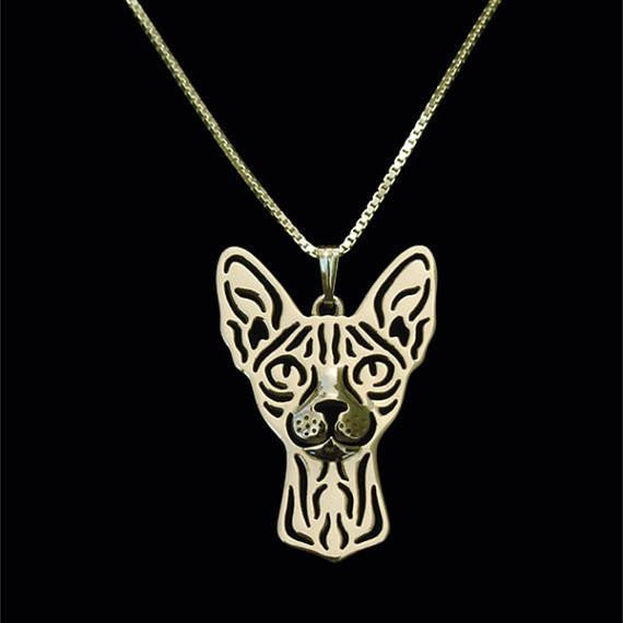 Silver/Gold Plated Cat Necklace - WikiWii