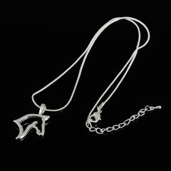 Stainless steel Horse Pendant Necklace - WikiWii