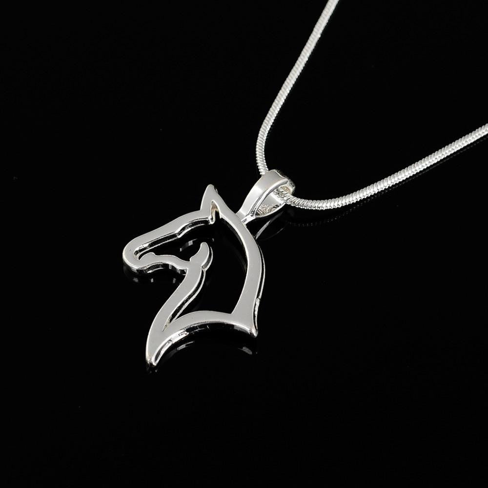 Stainless steel horse pendant necklace stainless steel horse pendant necklace wikiwii mozeypictures Gallery