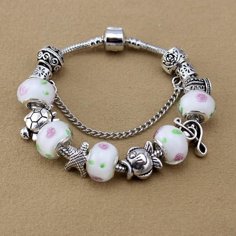 Turtle / Fish Charms bracelet - WikiWii