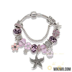 Unique New Design Starfish Charm Bracelet - WikiWii