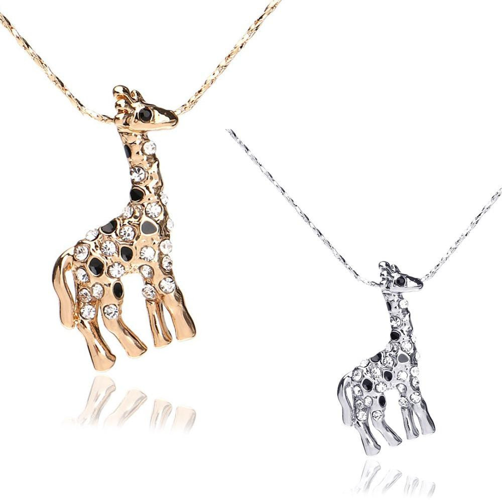 pendant statement giraffe and made origami kids silver products jewellery necklace il fullxfull initial